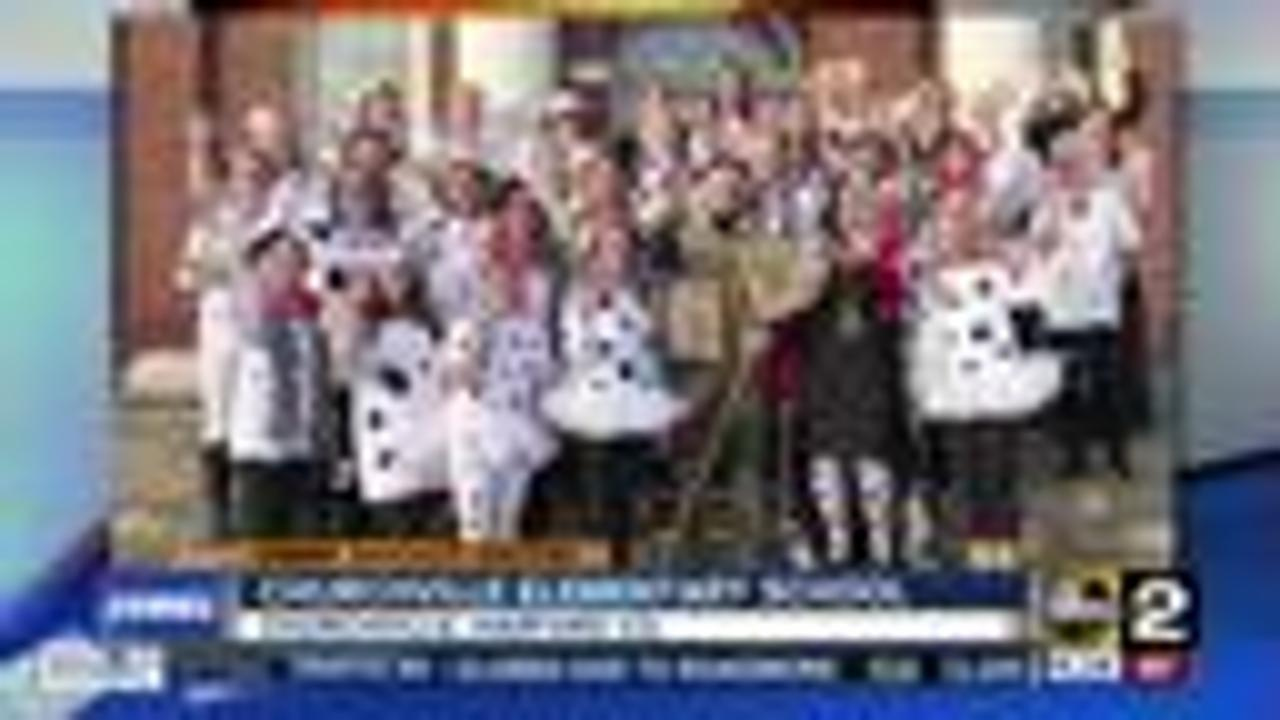 The teachers of Churchville Elementary School say Good Morning Maryland