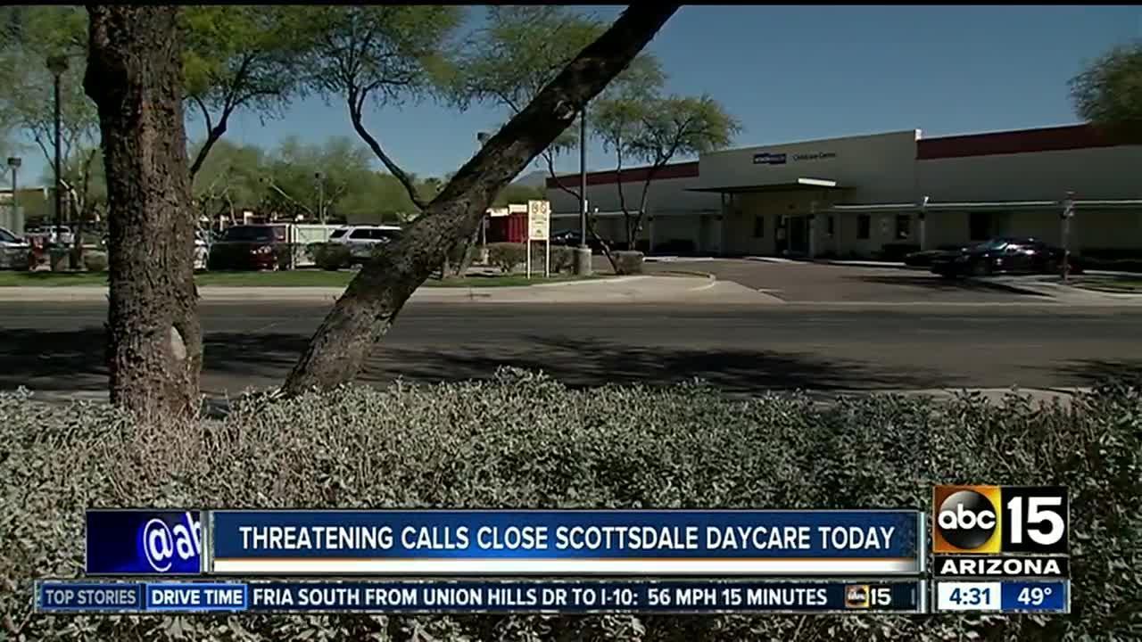 Threatening phone calls made to Scottsdale child center