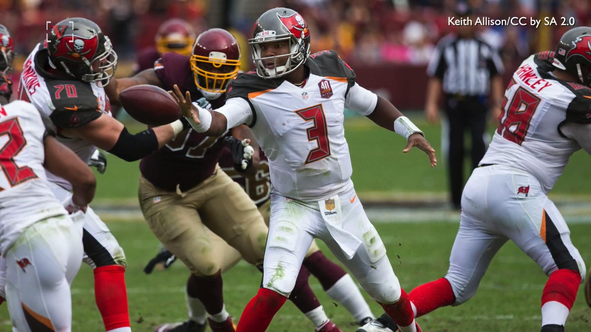 Buccaneers QB Winston Apologizes for 'Poor Word Choice'