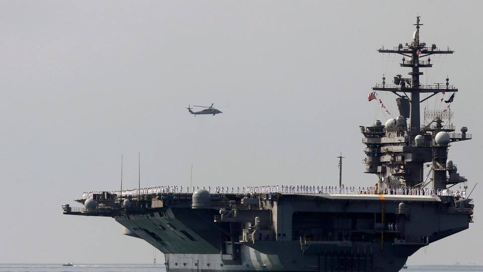 US Flexes Military Muscle At China