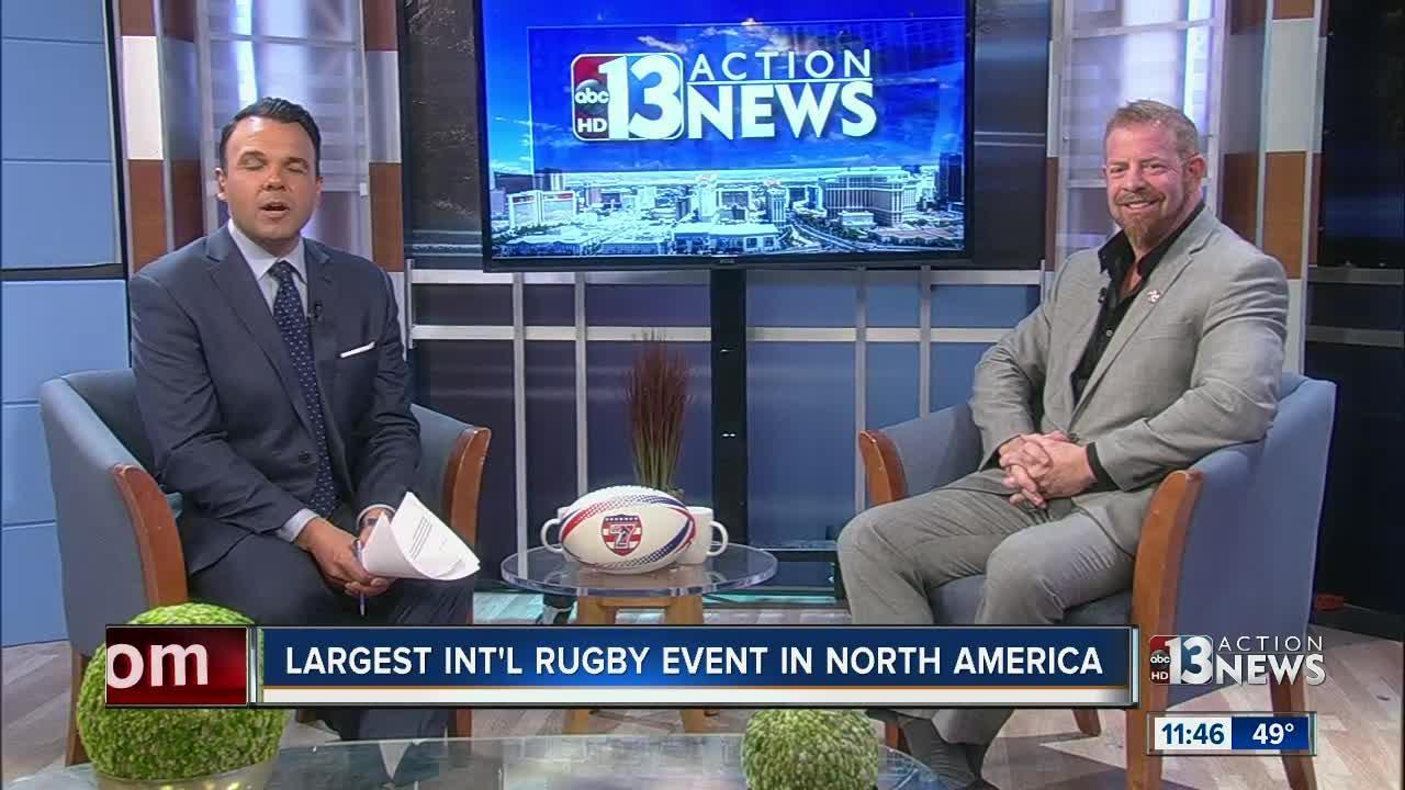 International rugby event coming to Las Vegas
