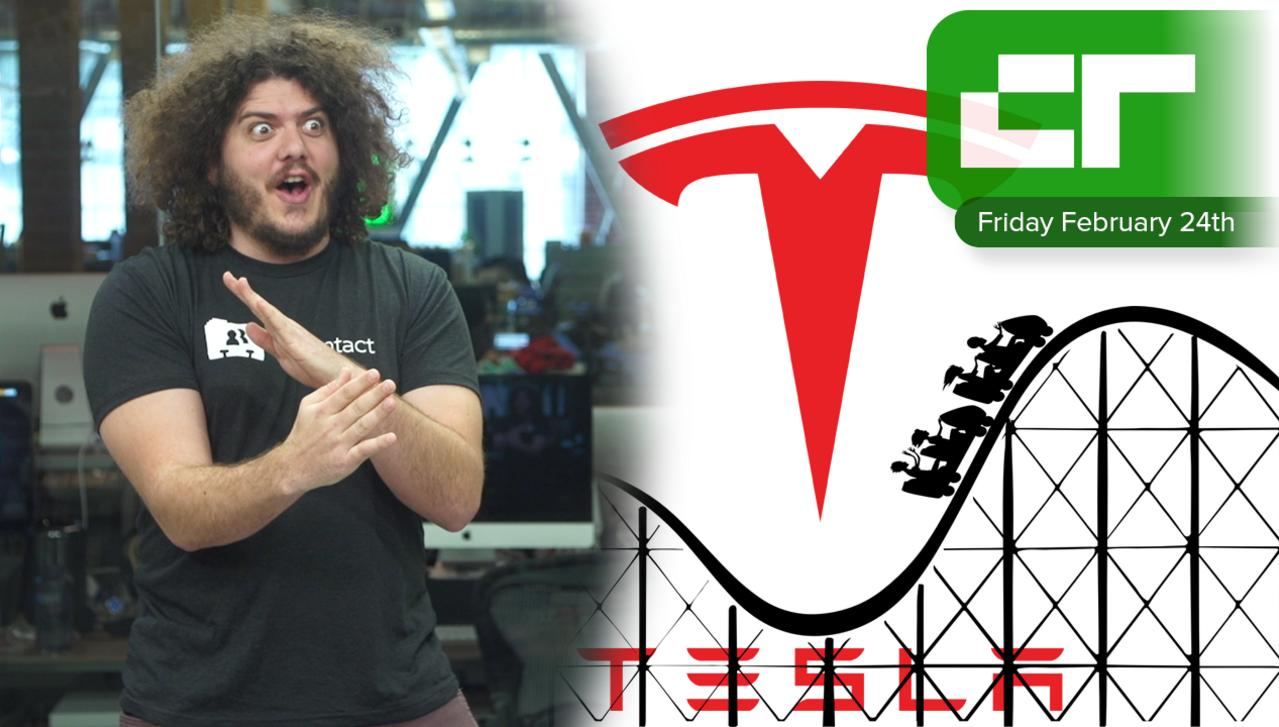 Crunch Report   Tesla and Rollercoasters