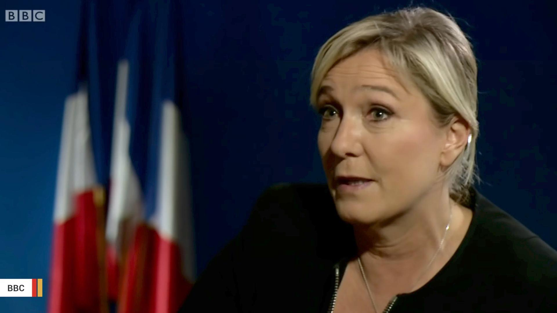 Report: France's Far-Right Candidate Marine Le Pen Gains Ground