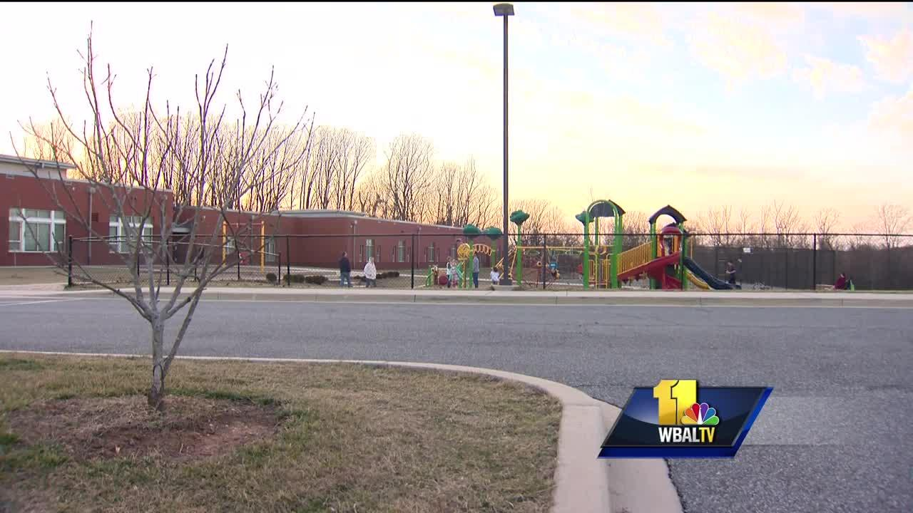 Video: Man seen approaching girl at Bel Air playground