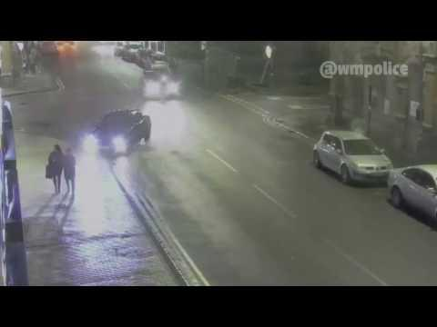 Police Release CCTV Footage of Hit-And-Run Driver Knocking Down Teen