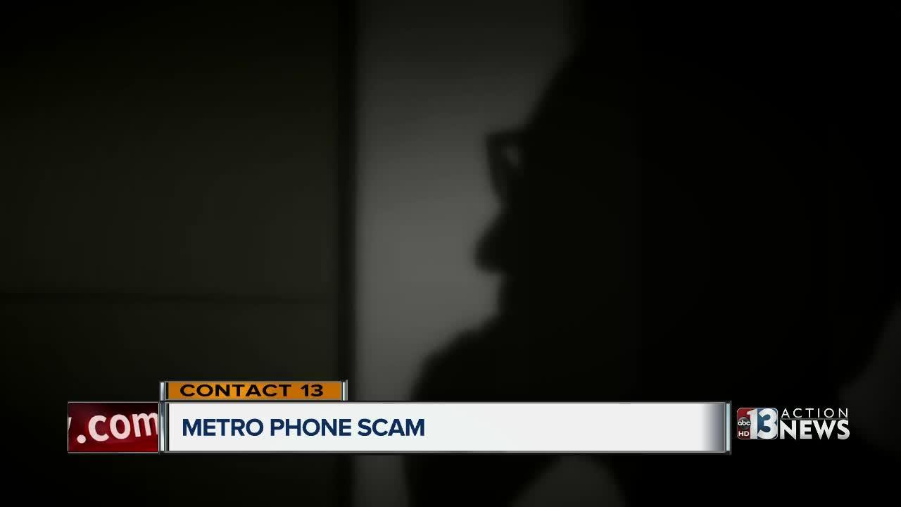 Man target of police phone scam