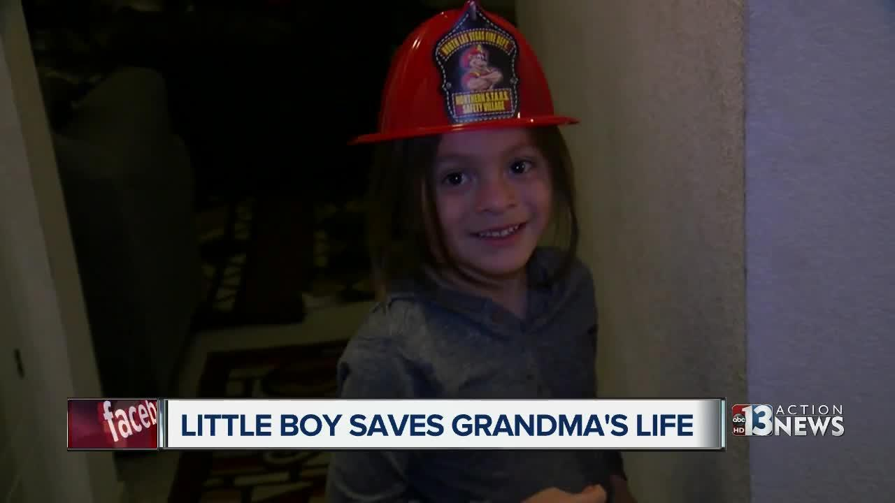 5-year-old called a hero for saving grandmother's life