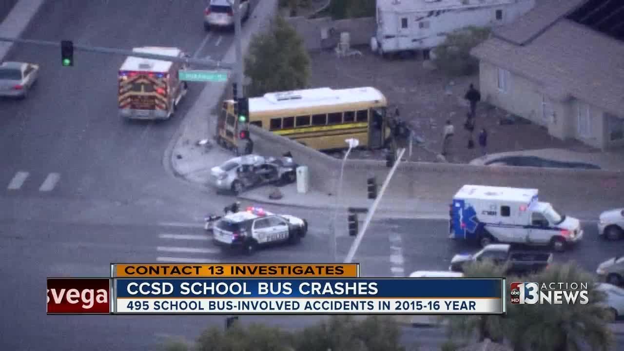 Contact 13 investigates school bus safety in Las Vegas