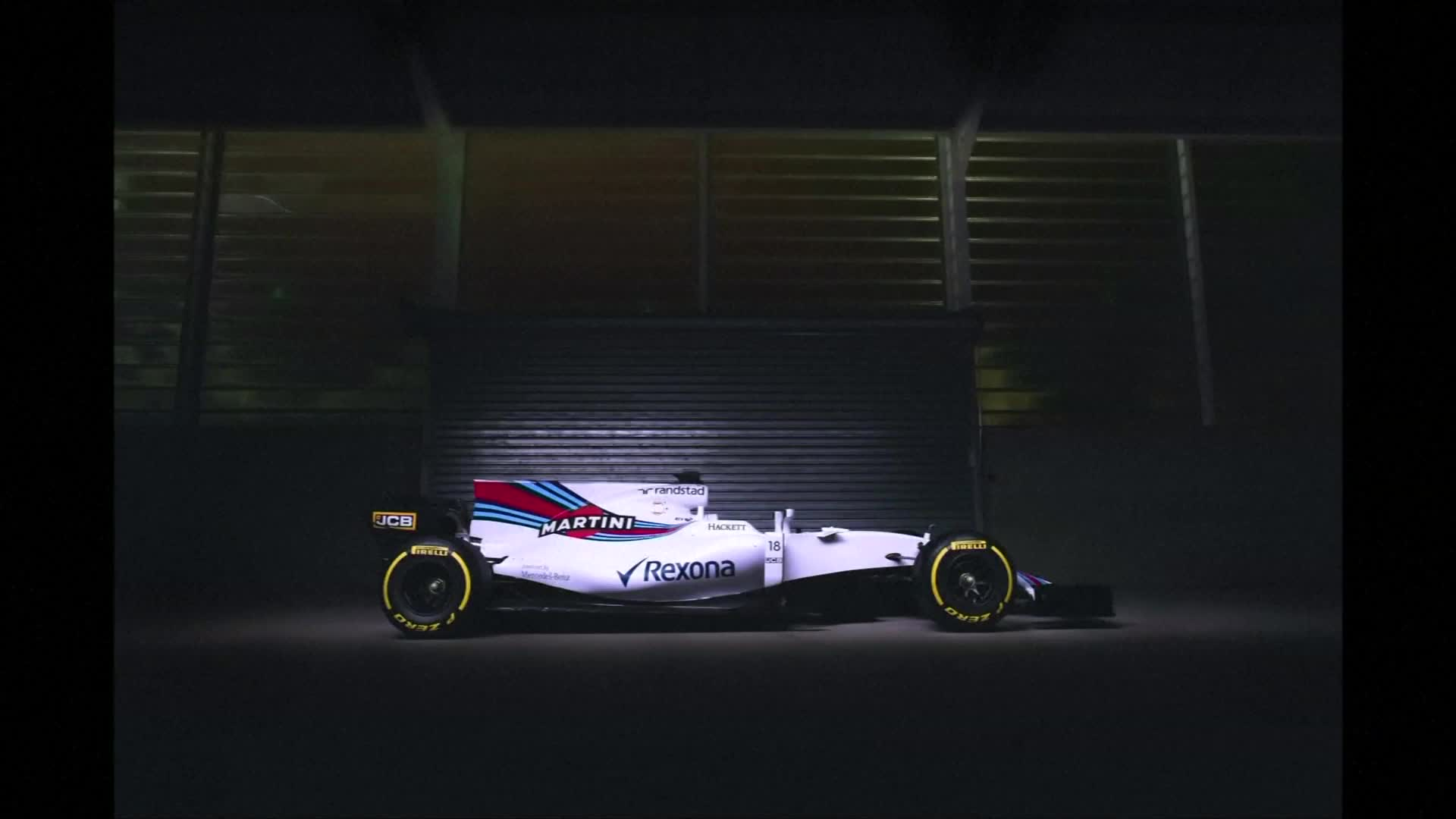 Williams release photographs of their 2017 F1 car