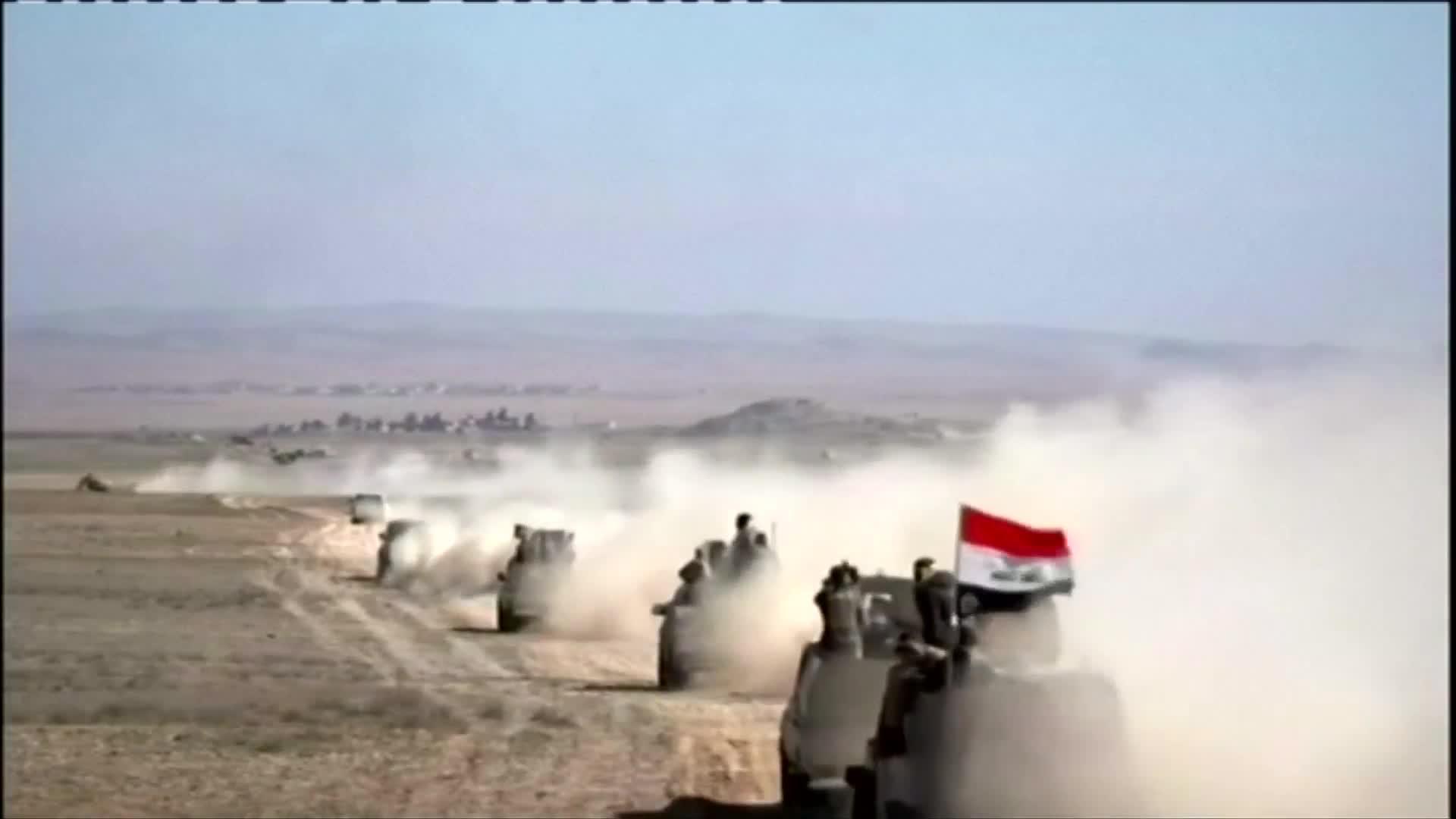 Iraq's Shi'ite Muslim militias push into western Mosul