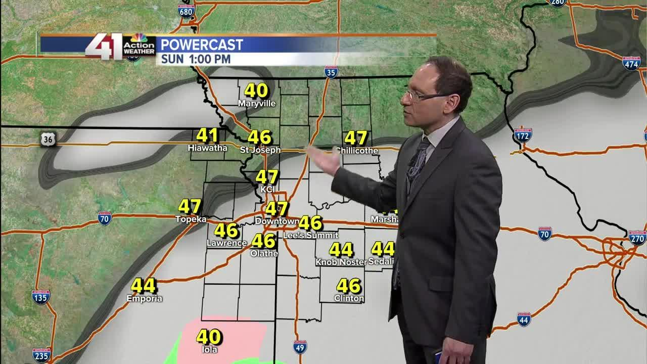 Jeff Penner Saturday Midday Weather Update 2 25 17