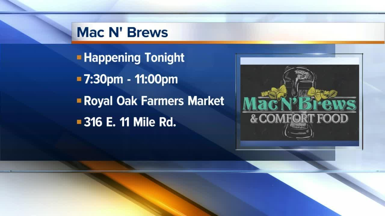 Mac N' Brews happening Saturday in Royal Oak