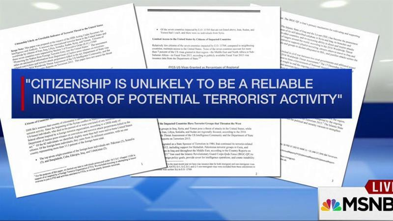 DHS Draft: Citizenship an 'unreliable indicator of terrorist threat'