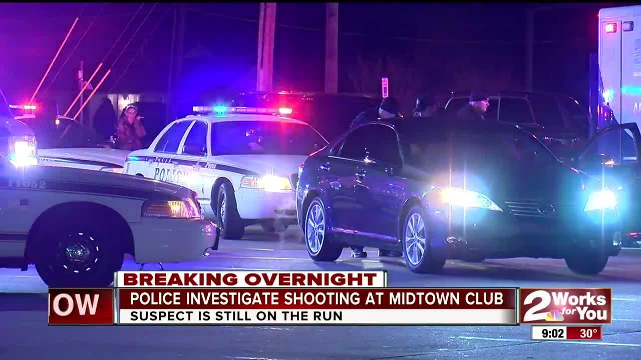 Gunman on the loose after overnight shooting