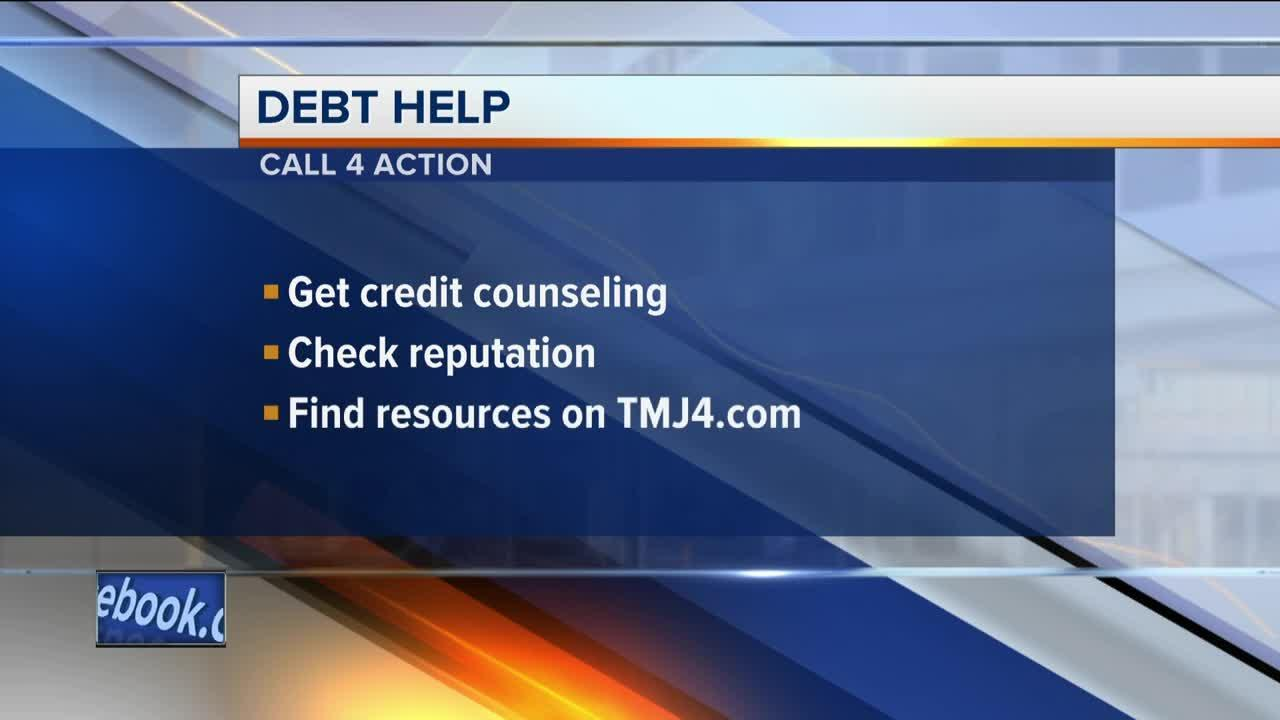 Call 4 Action: Help managing debt