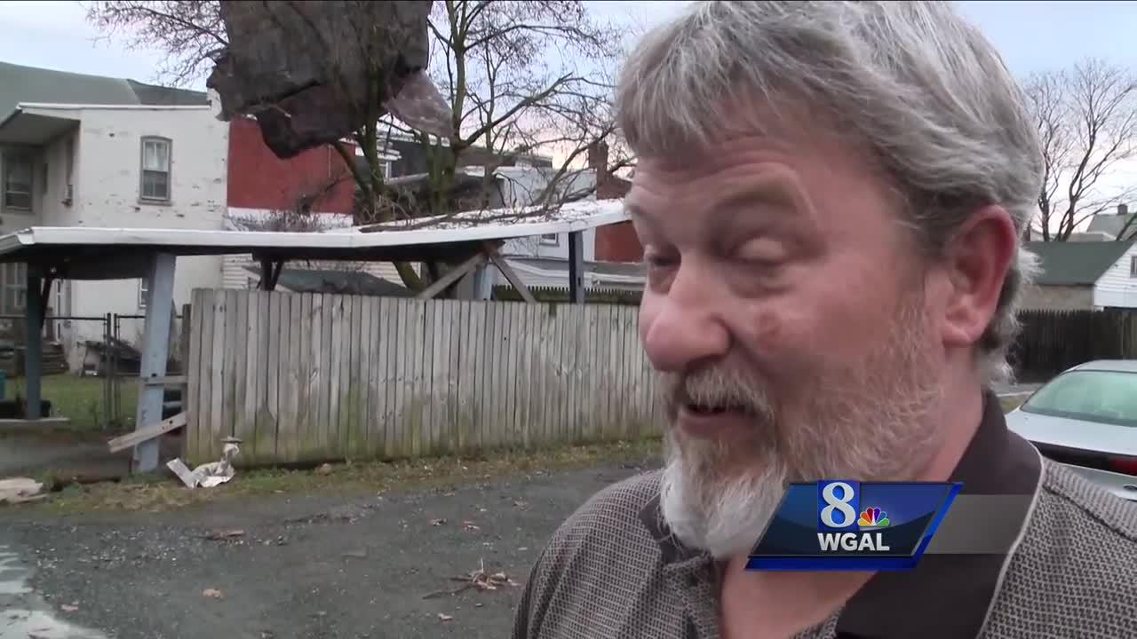 'It was horrible' - Homes, fences, buildings damaged in Columbia