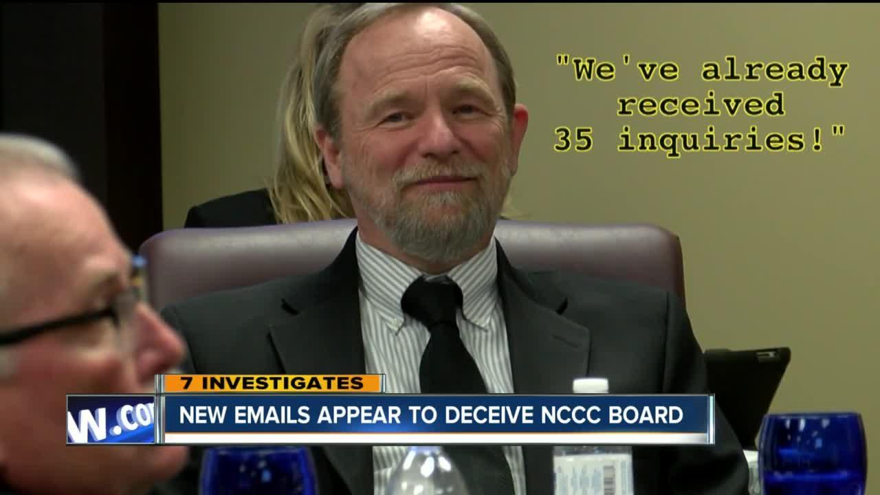 7 Exclusive: New emails show NCCC president mocked board members, may have deceived state officials