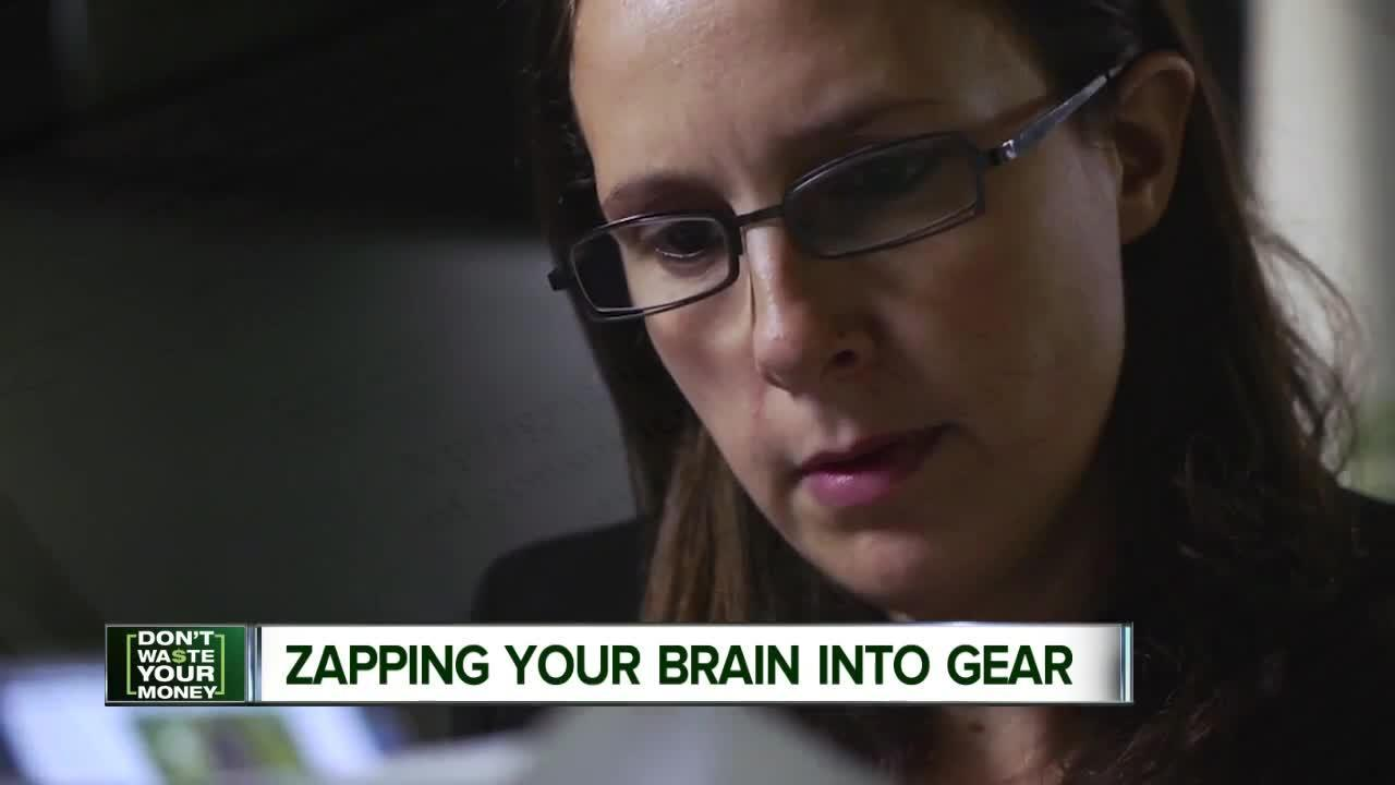 Zapping your brain into gear