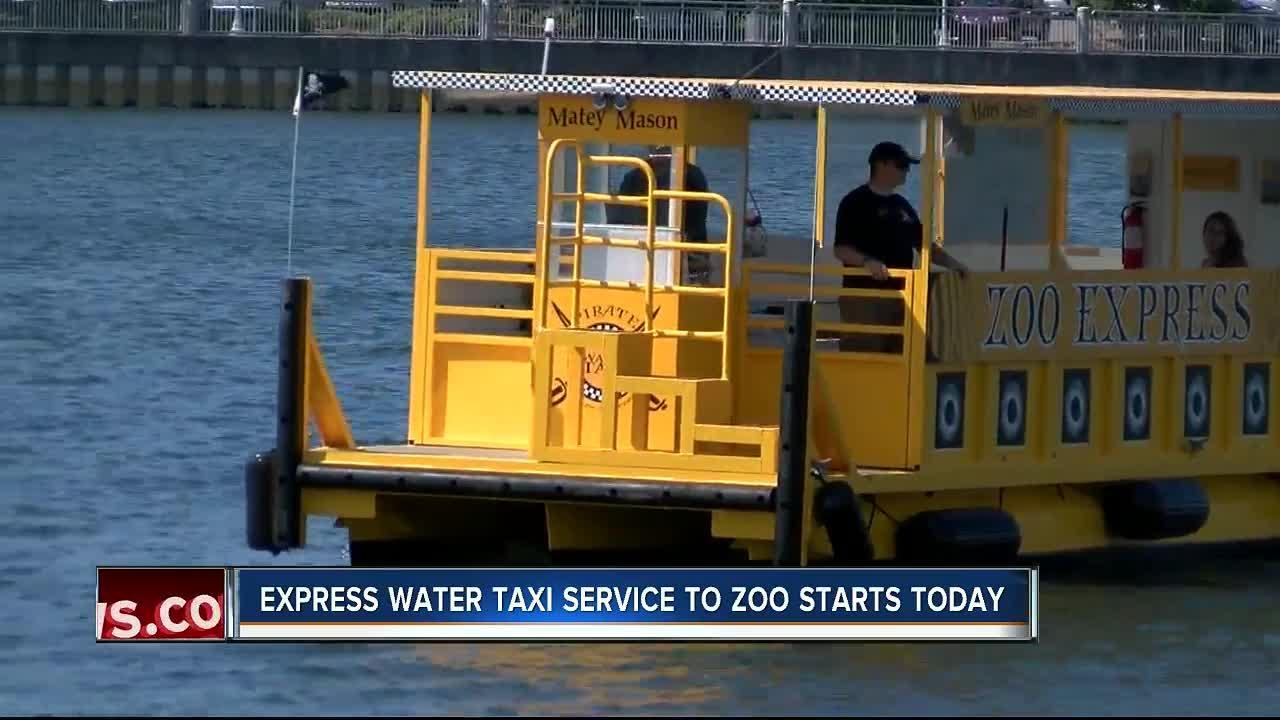 Tampa's Pirate Water Taxi will now take you to the Zoo
