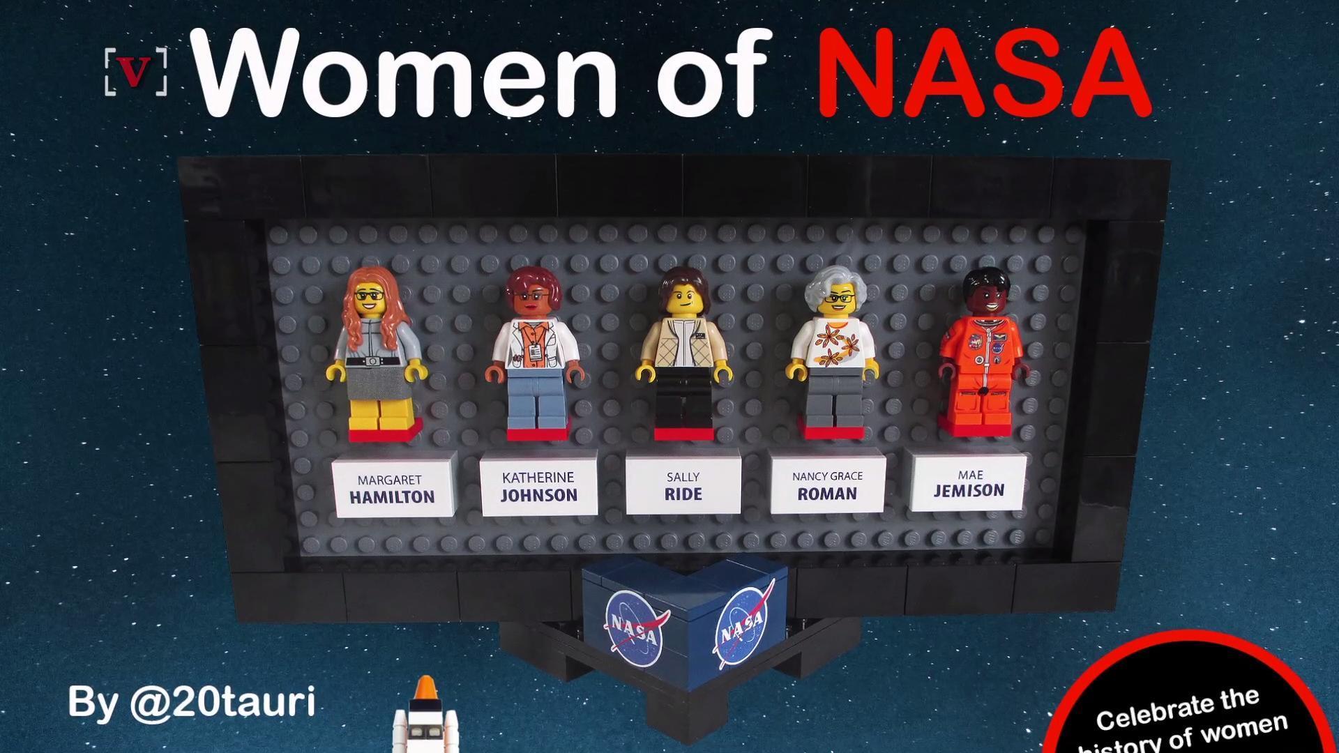 Woman Behind 'Hidden Figures' Inspires New Lego Set