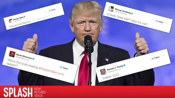 Celebs React to President Trump's Joint Address to Congress