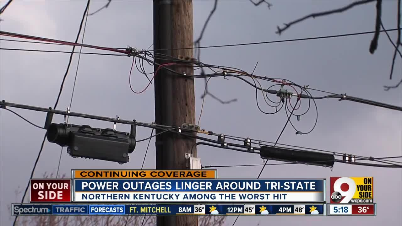 Power outages in nky -