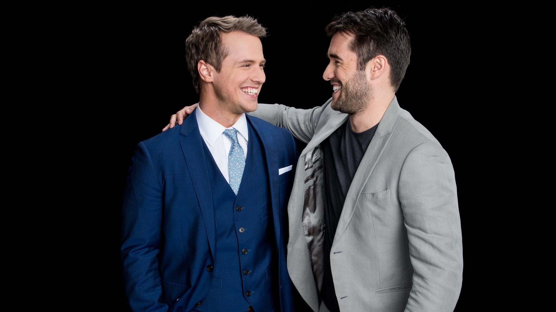 Freddie Stroma And Josh Bowman Discuss Their Series Time After