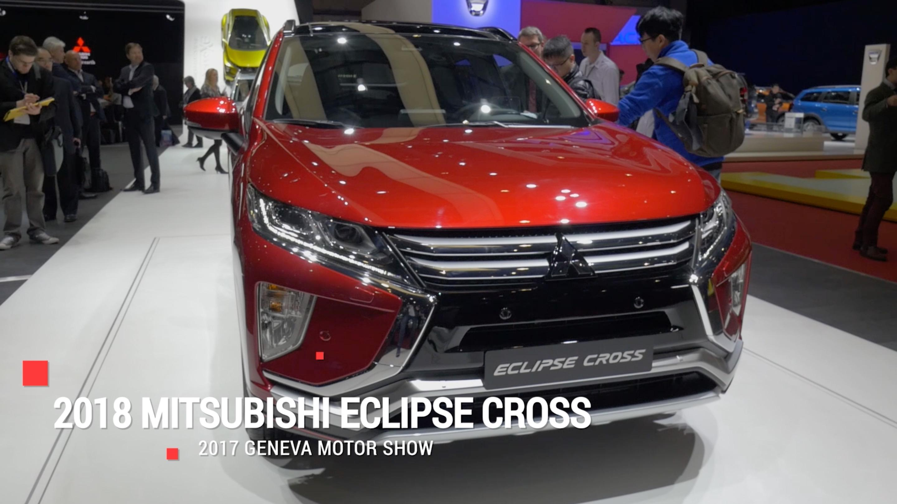 Mitsubishi Eclipse Cross Will Be Crossing Over To The Us Sometime In