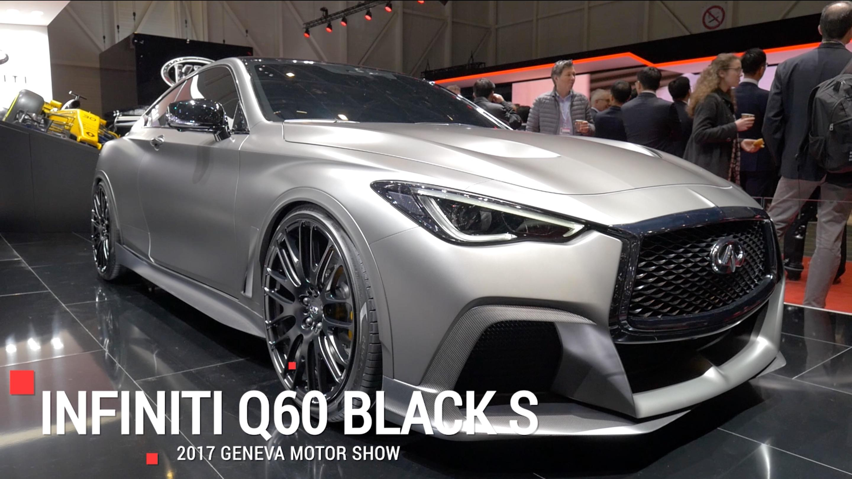 Infiniti Q60 Project Black S To Pairs F1 Tech To A Twin Turbo V6
