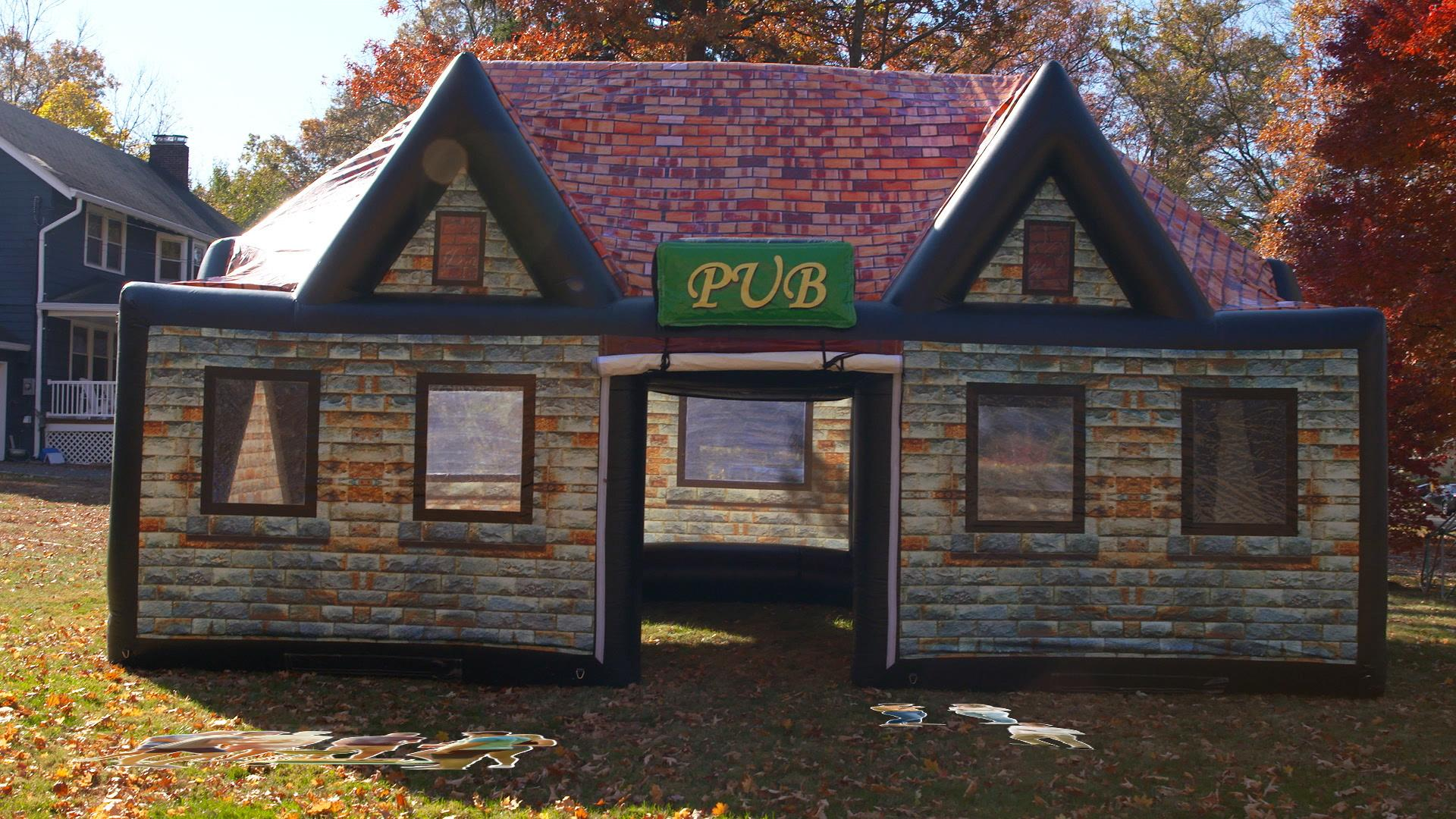 This Inflatable Irish Pub Will Transform Your Backyard Into a Bar