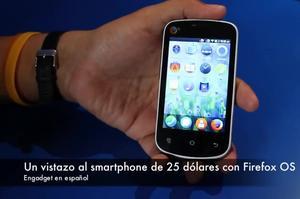 Un Vistazo Al Teléfono Firefox OS De 25 Dolares