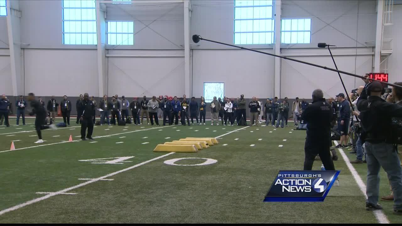 Pitt pro day and draft projections