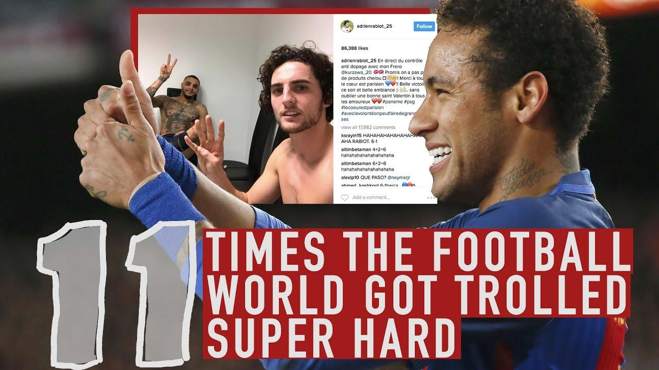 Neymar Destroying PSG and More Epic Trolls