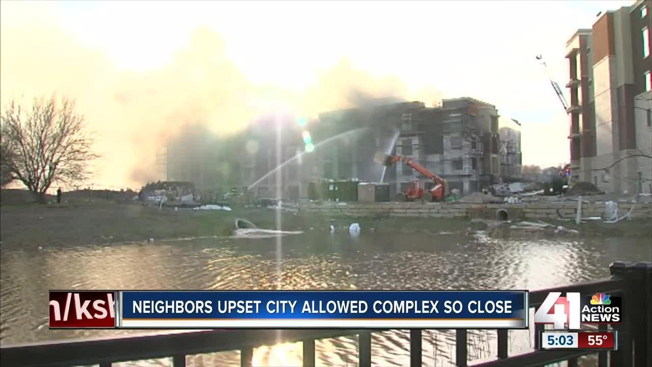 Neighbors upset city allowed complex to be so close