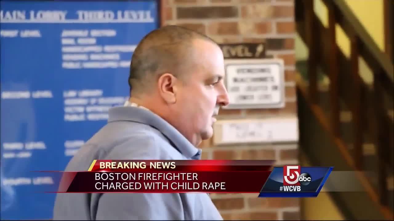Boston fire lieutenant charged with child rape