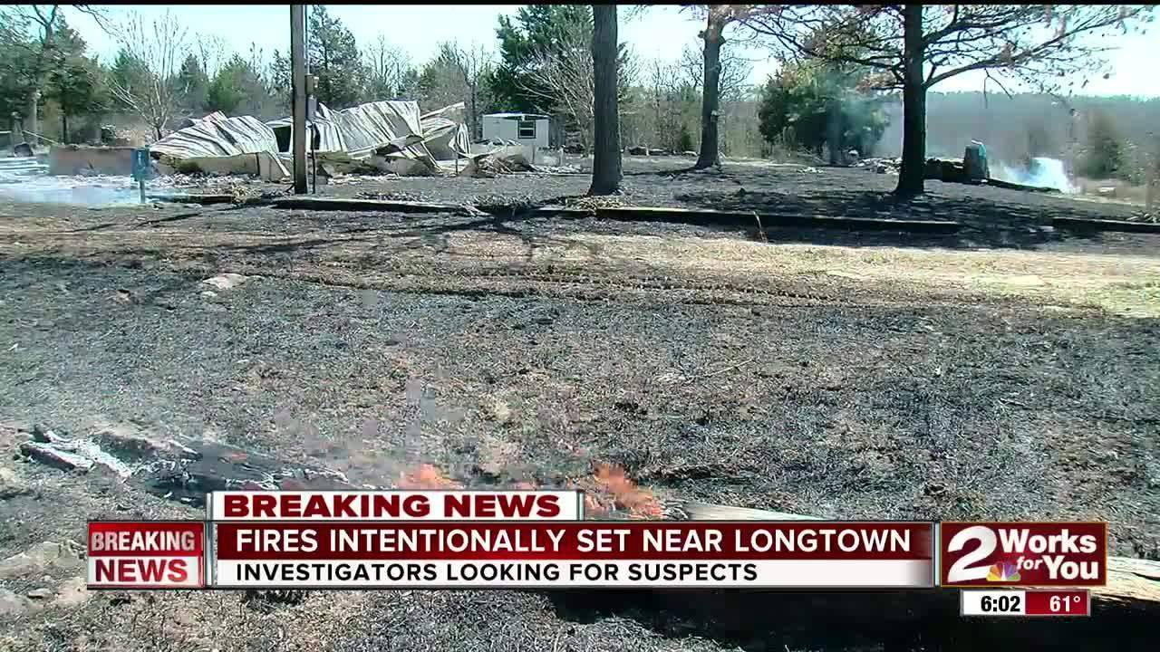 More suspicious fires reported in Pittsburg Co. following Monday's wildfire.