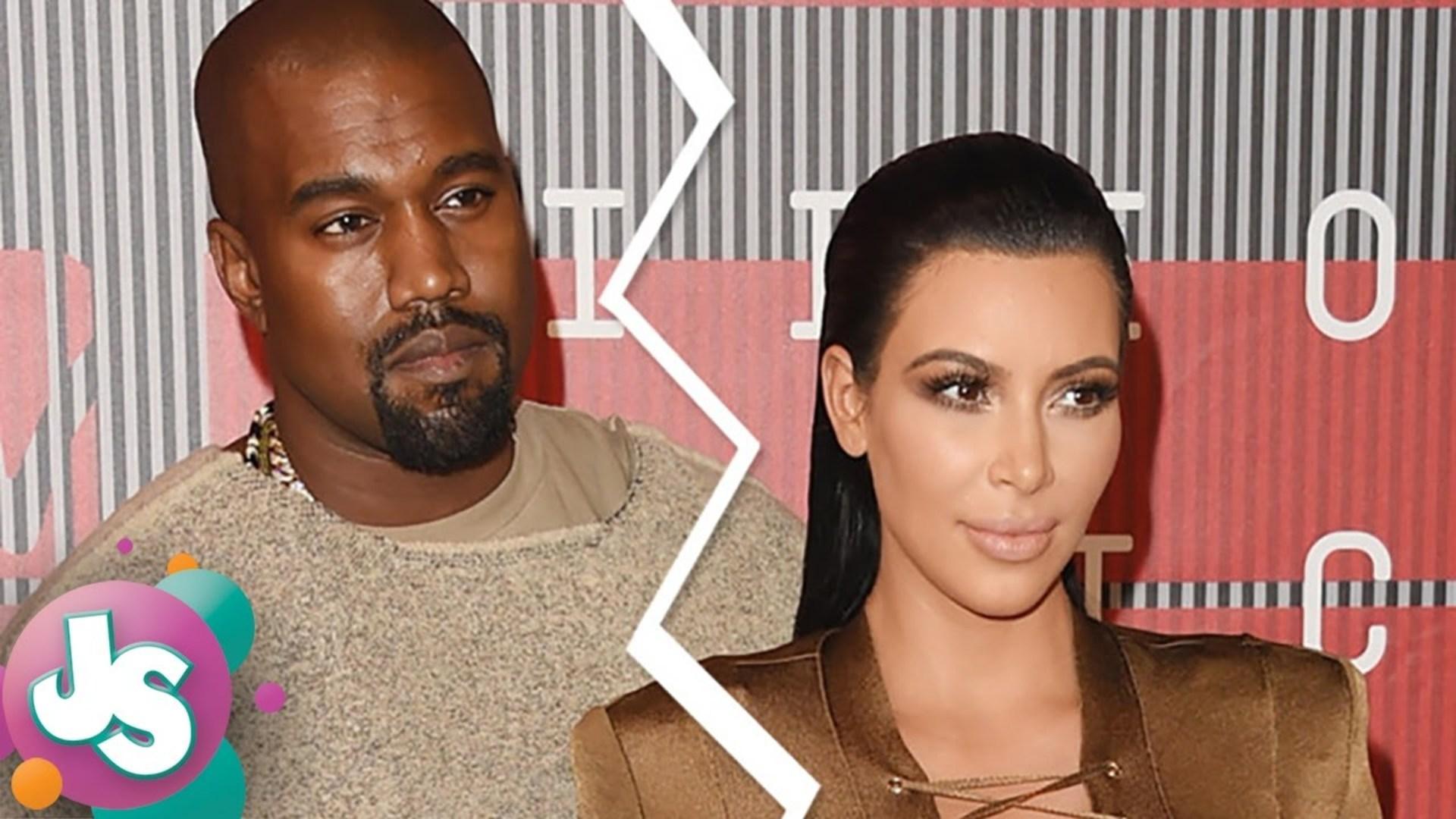 OMG! Kim Kardashian and Kanye West DIVORCE a Done Deal?! -JS