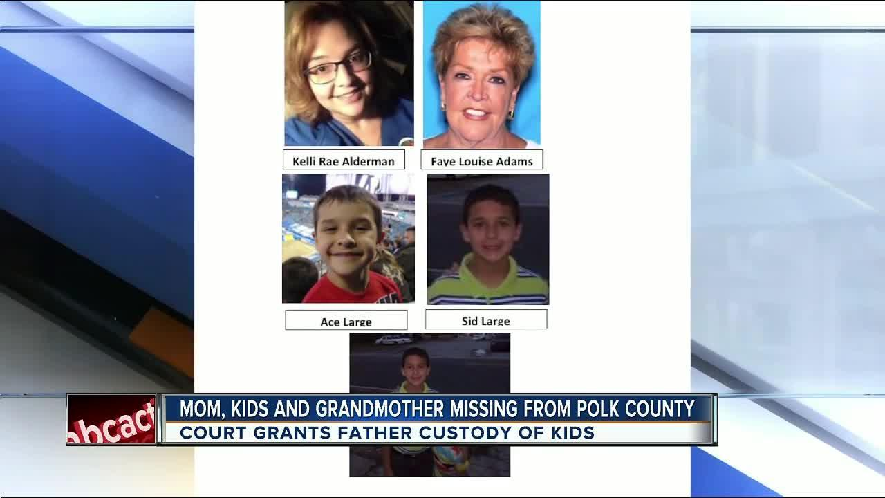 PCSO detectives locate mother and kids that went missing after custody hearing