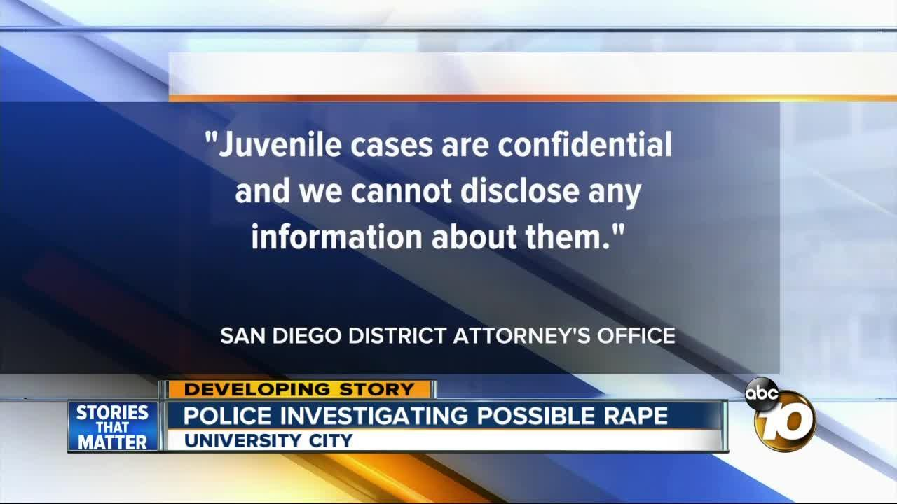 Police investigating possible rape at University City H.S.
