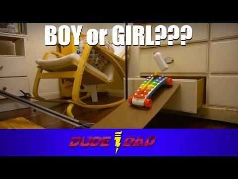 Dad Shows Off Creative Gender Reveal With Rube Goldberg Machine