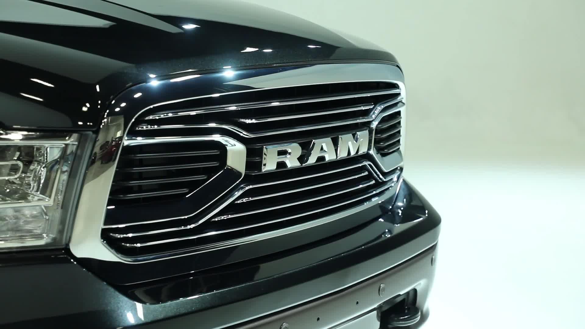 2017 Ram Laramie Longhorn at Dallas Auto Show