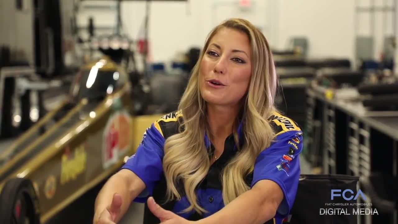 Mopar NHRA Top Fuel dragster Leah Pritchett