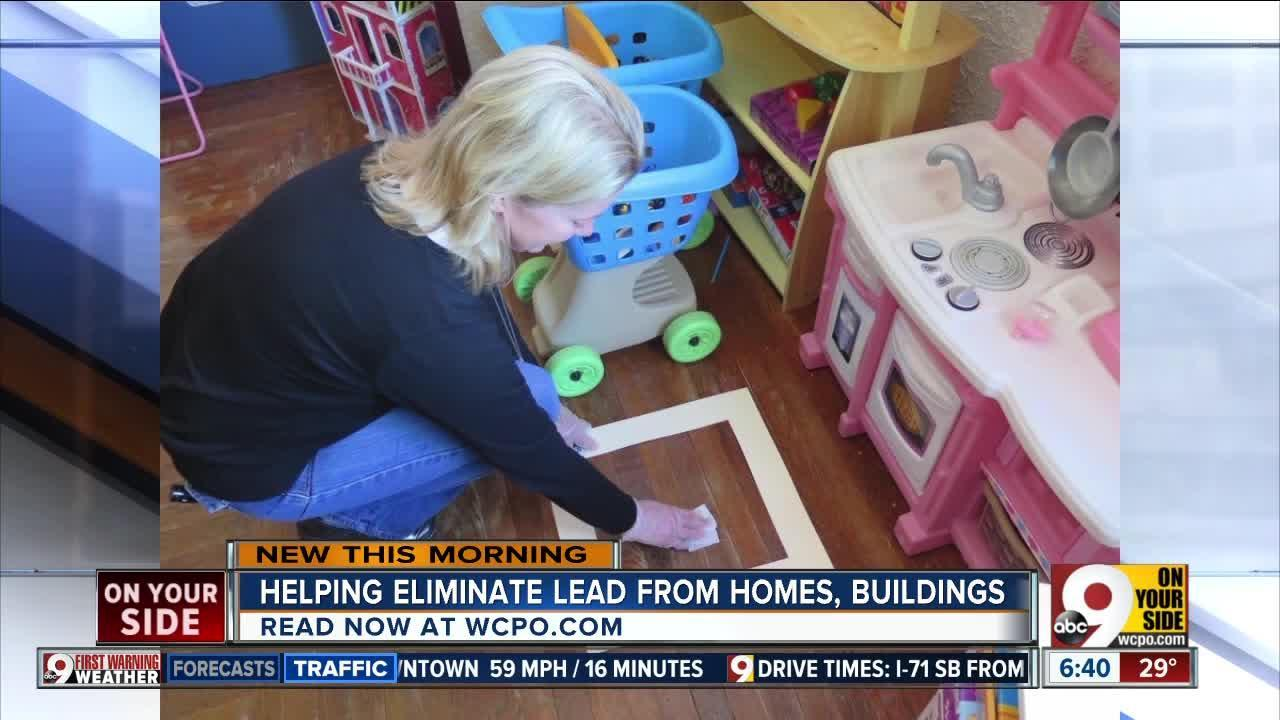 Helping eliminate lead from homes, buildings