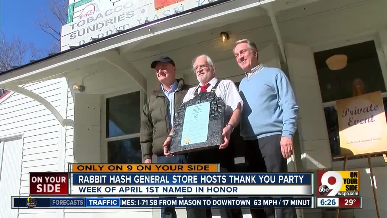 Rabbit Hash General Store hosts thank-you party
