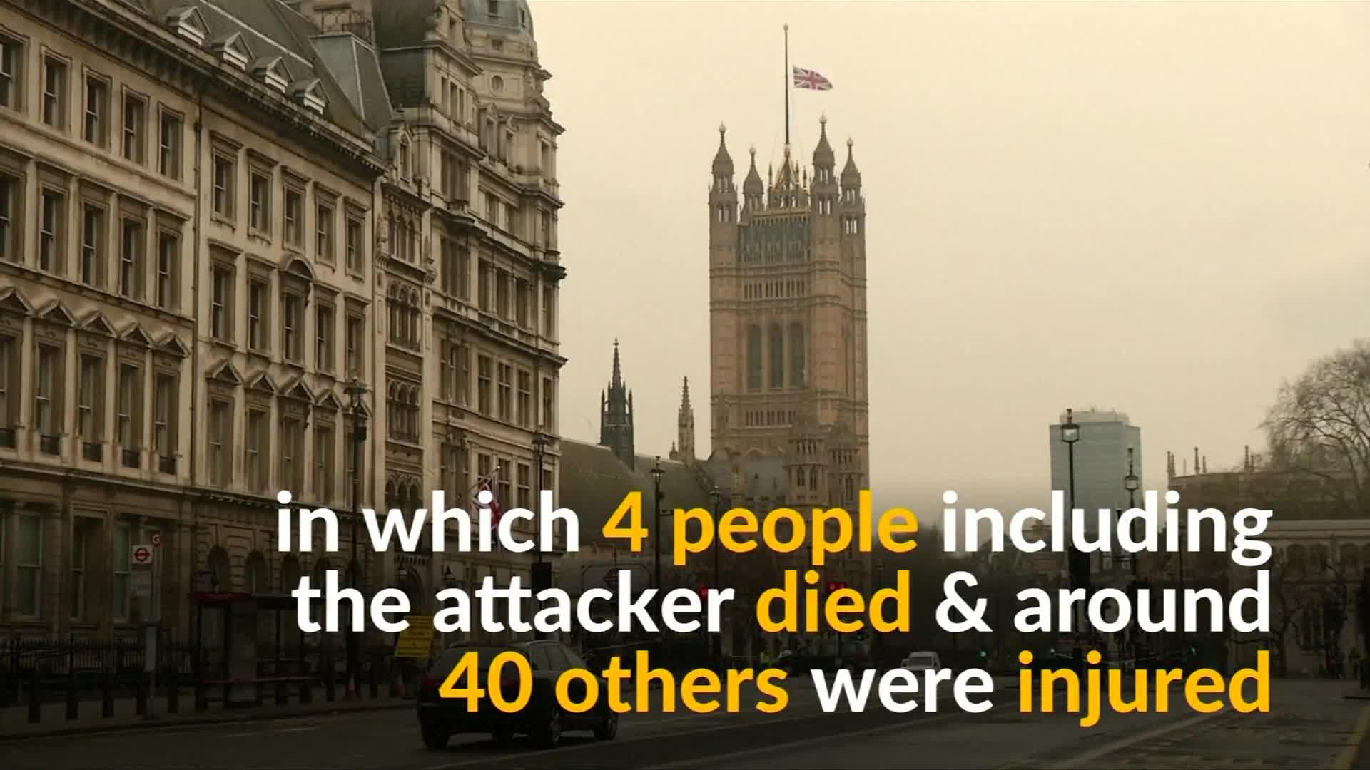 British PM says terrorism will not prevail