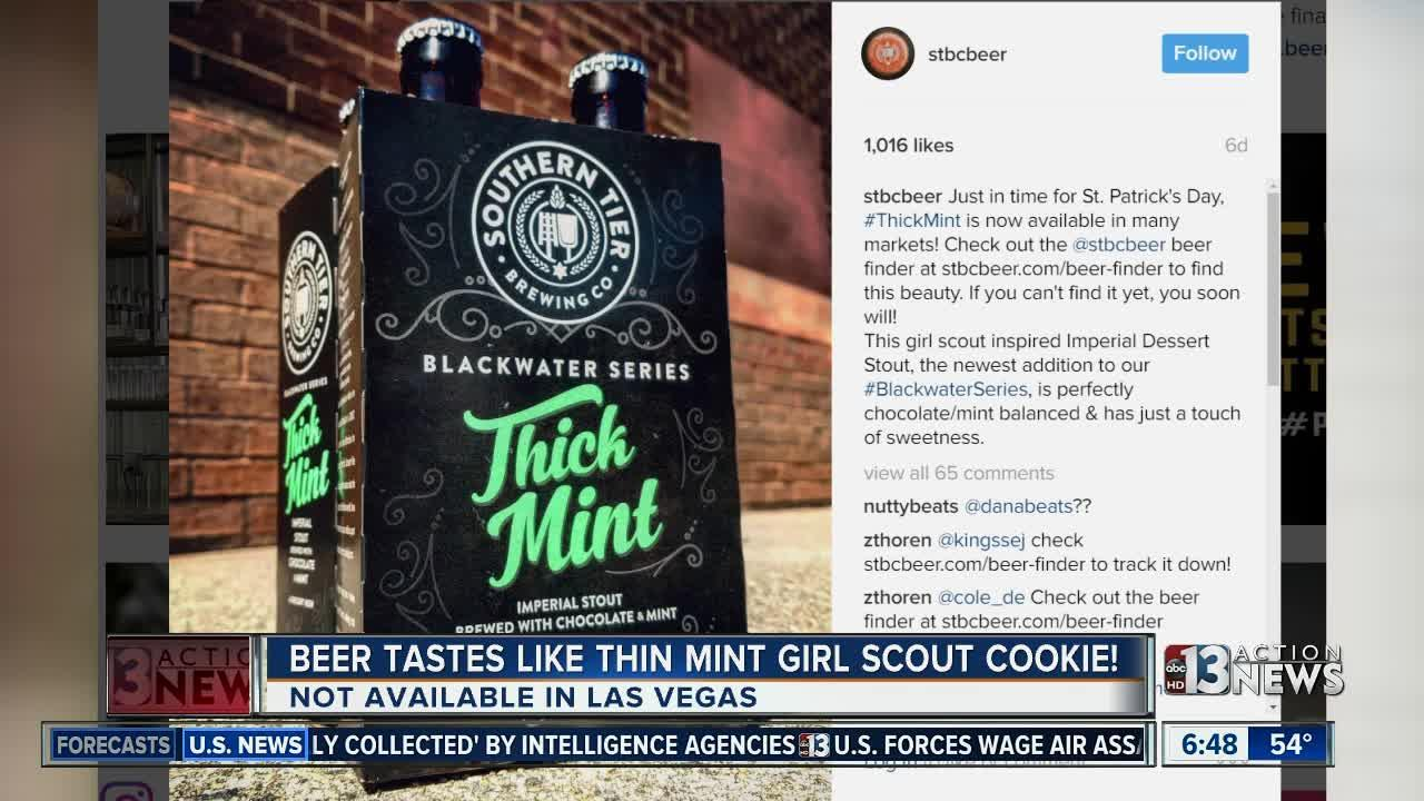 New beer tastes like Girl Scout cookie