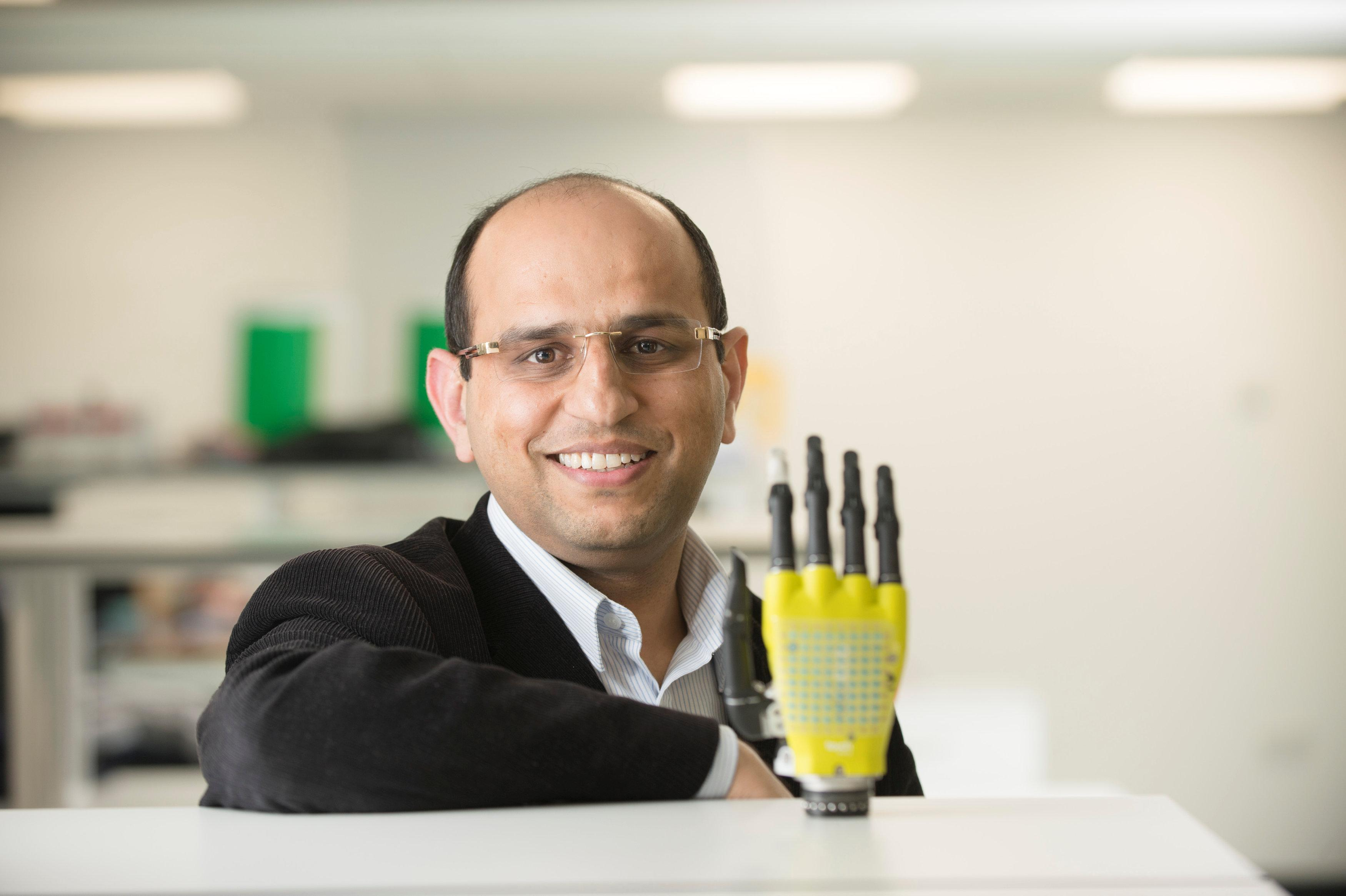 Solar powered skin could change lives for amputees