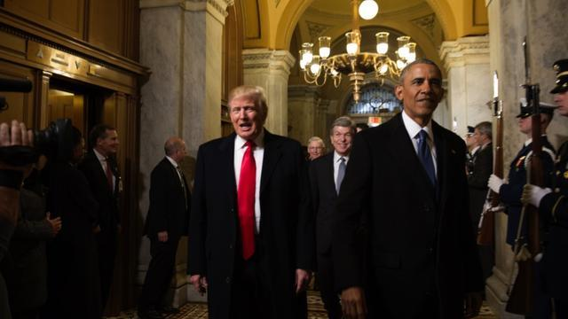 Report: No Direct Contact Between Trump And Obama Since Inauguration