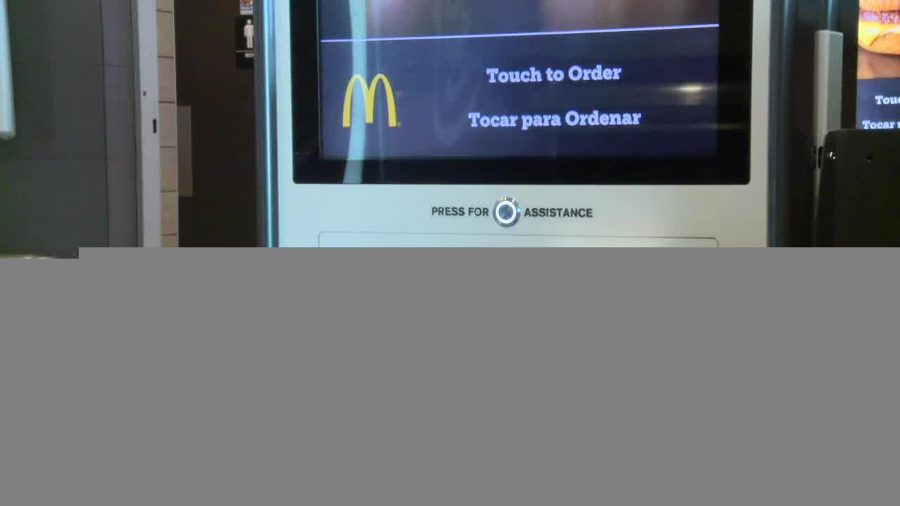 First Nevada self-order McDonald's kiosks in Las Vegas