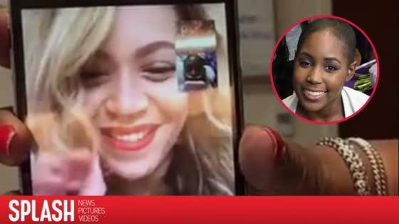 Beyoncé passe du temps sur FaceTime avec une ado, qui souffre d'un cancer